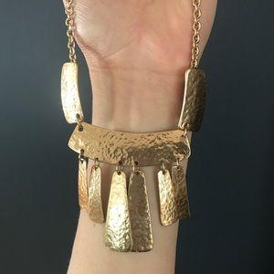 Jewelry - Hammered minimalist necklace